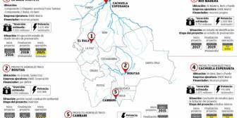 21 proyectos ponen en riesgo a las áreas protegidas y a los indígenas