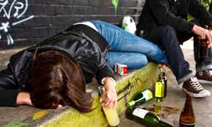 La Paz. Menor reportada desaparecida fue hallada bebiendo alcohol
