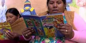 """Educación da inicio a la campaña """"Bolivia lee 2018"""""""