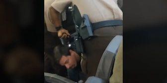 Tensión en un avión en Miami: la policía utilizó una pistola eléctrica para expulsar a un pasajero
