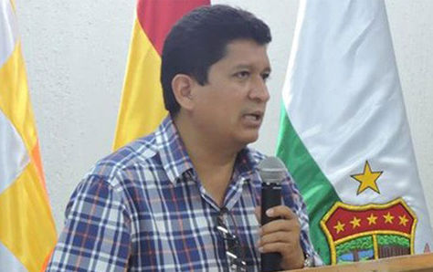 El gobernador de Pando, Luis Adolfo Flores.