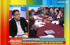 Microempresarios rechazan propuesta de la COB para el incremento salarial