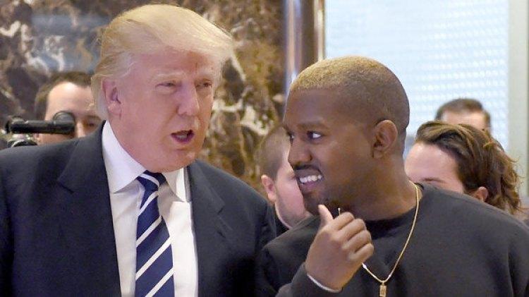 El 13 de diciembre de 2016, un mes después de ganar las elecciones presidenciales, Donald Trump recibió a Kanye West en Nueva York (AFP PHOTO / TIMOTHY A. CLARY)
