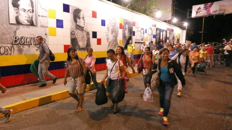 Almagro consideró que si se hubieran aplicado sanciones años antes, se hubieran ahorrado millones de refugiados venezolanos (EFE)