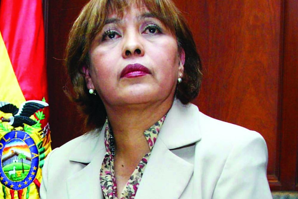 """""""Si hubiera un caso que involucre a Bolivia, tengo que excusarme"""""""