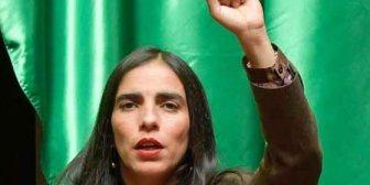 Plantean suspender a presidenta de Diputados por obstaculizar labor parlamentaria