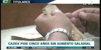 Video titulares de noticias de TV – Bolivia, mediodía del jueves 19 de abril de 2018