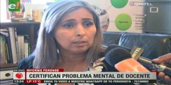 Examen determina que docente acusado de racismo padece trastorno psicótico