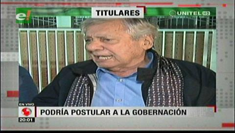 Video titulares de noticias de TV – Bolivia, noche del miércoles 18 de abril de 2018
