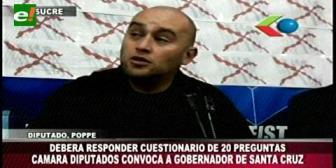 Comisión de Autonomías de la Cámara Baja convoca a Costas por el tema Incahuasi