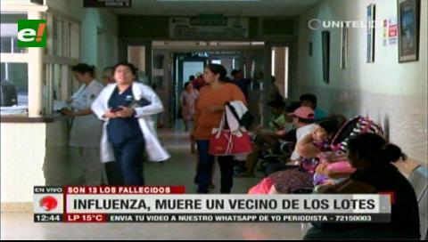 Influenza: en Los Lotes muere un hombre de 52 años; suman 13 víctimas