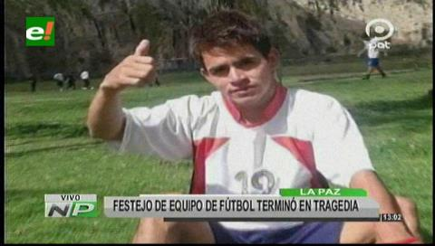 La Paz: Un futbolista es hallado muerto en Sopocachi