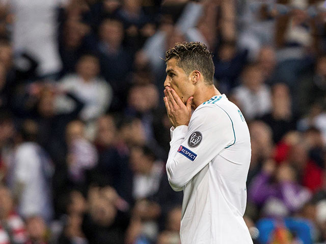 Cristiano Ronaldo sufre esguince de tobillo