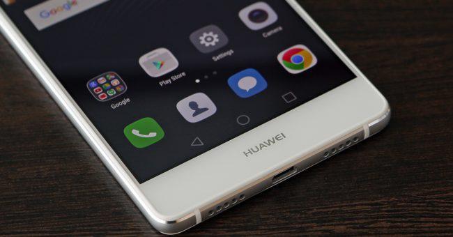 Botones del Huawei P9