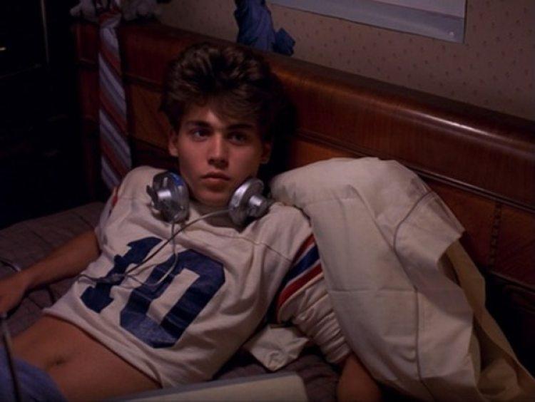 """Depp comenzó su carrera en la película de terror """"A Nightmare on Elm Street"""""""