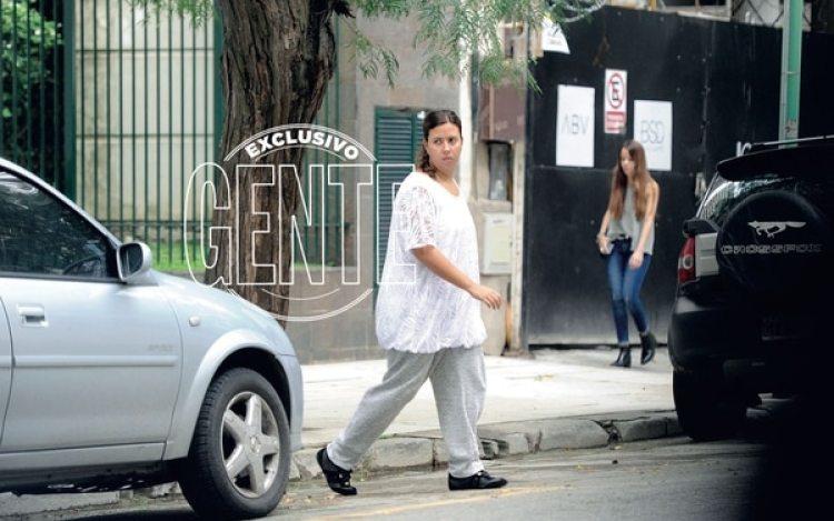 Manuela, la hija de Pablo Escobaren Buenos Aires (Enrique García Medina/GENTE)