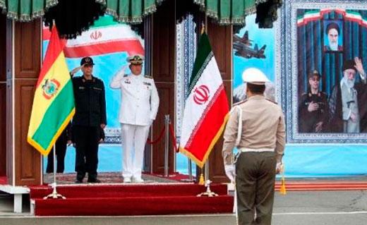 Bolivia e Irán reforzaron sus relaciones militares
