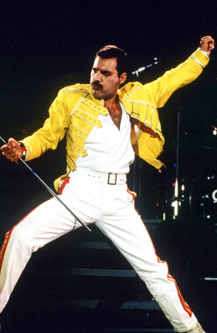 Freddie Mercury fue el líder y vocalista de la banda inglesa, Queen