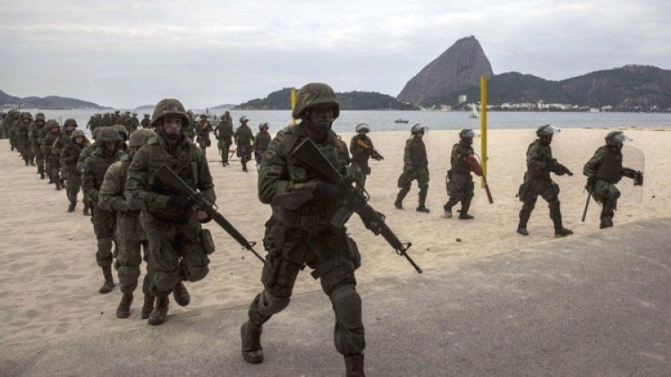 El presidente de Brasil, Michel Temer, ordenó la militarización de Río de Janeiro (EFE)