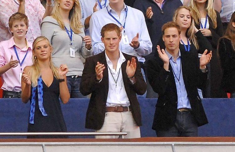 El Príncipe Harry con su ex novia Chelsy Davy