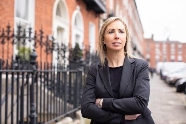 Helen Dixon, la Comisaria de Protección de datos irlandesa (Sean and Yvette/The Washington Post)
