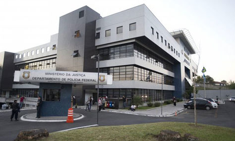 Policía Federal en la ciudad de Curitiba donde Lula está recluido Luiz Inácio Lula da Silva. Foto: Archivo EFE