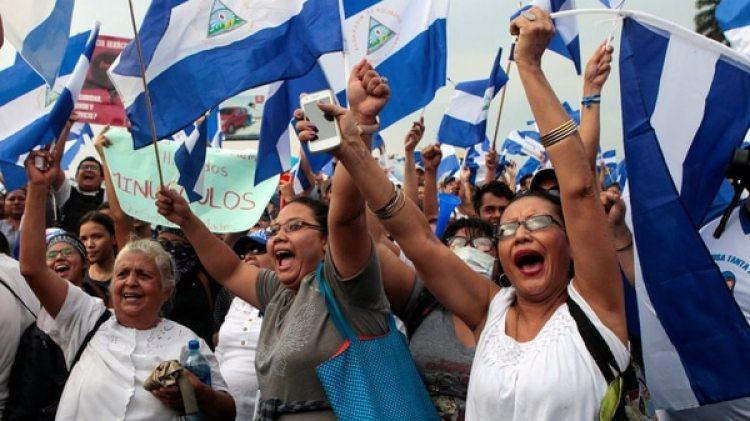Las manifestaciones contra el régimen de Daniel Ortega en Nicaragua comenzaron el 18 de abril y la violenta represión ha dejado más de 50 muertos (REUTERS/Oswaldo Rivas)