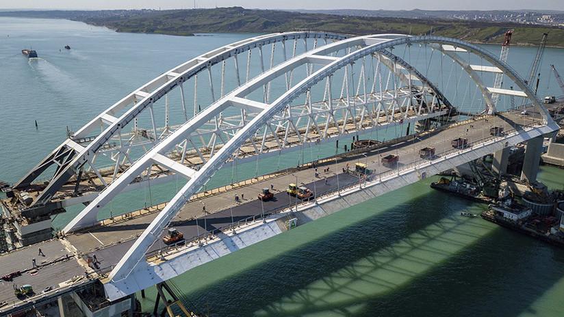Periodista que instó a Ucrania a bombardear el puente de Crimea: