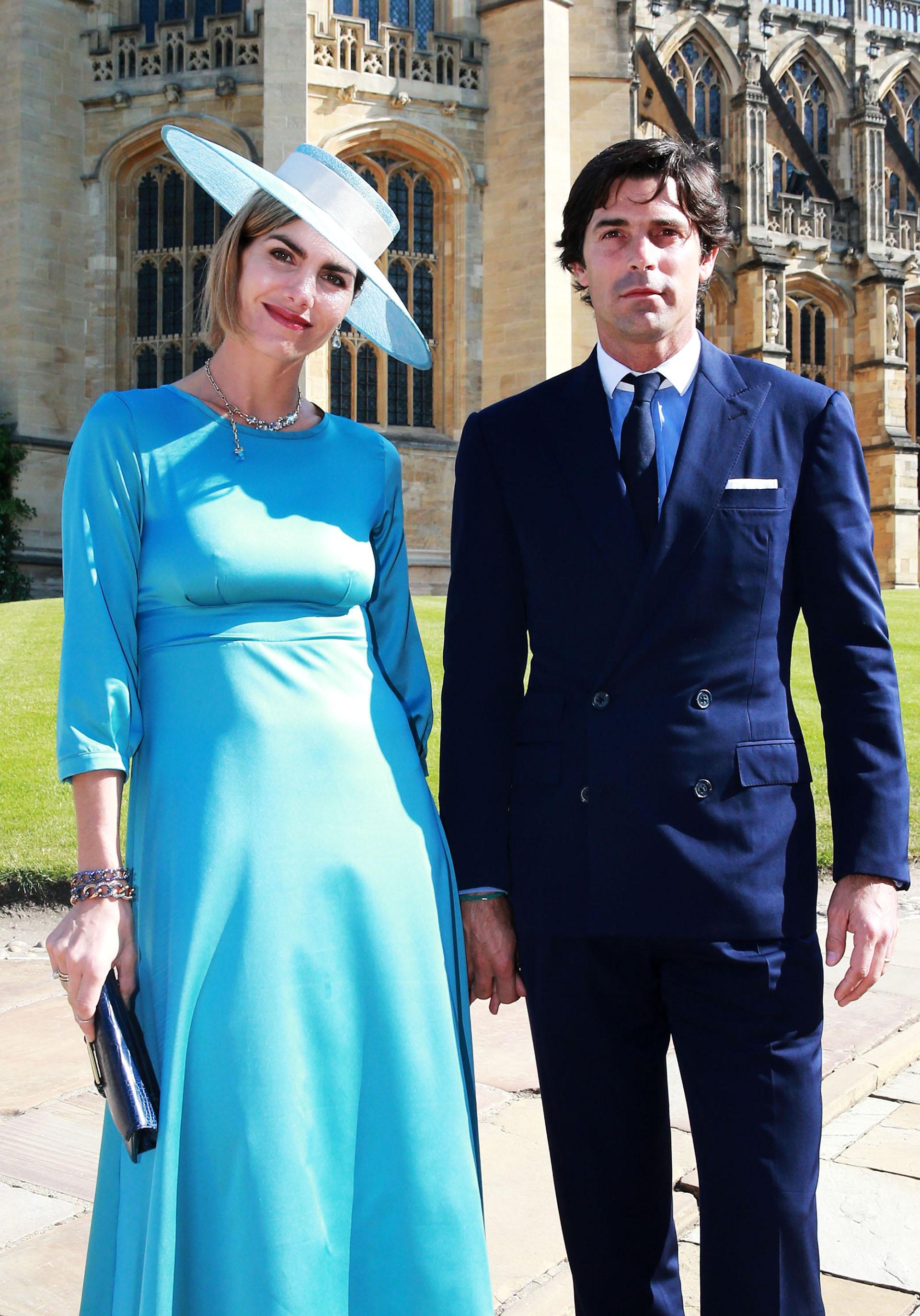 La argentina Delfina Blaquier y su esposo, el polista Nacho Figueras