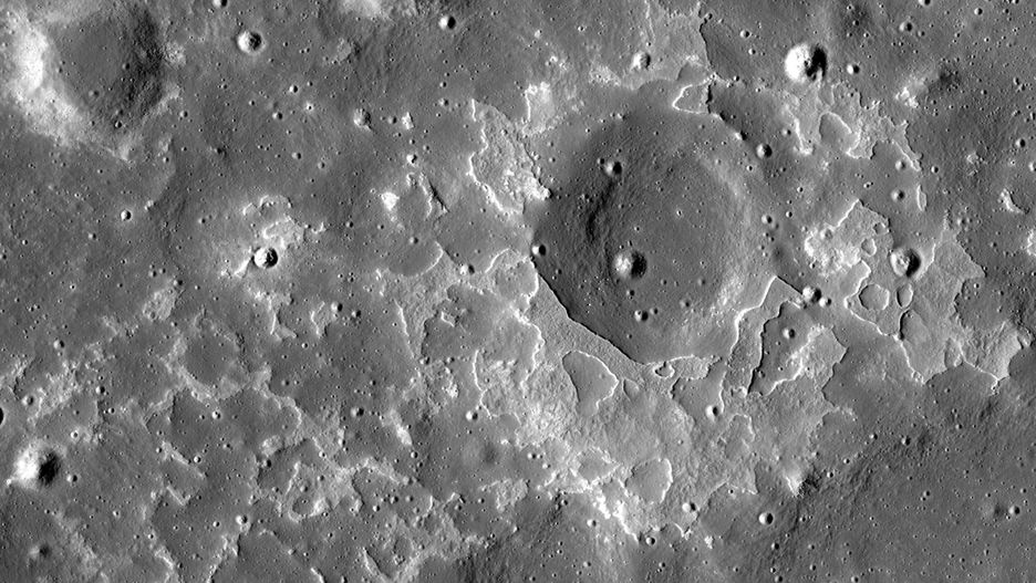 NASA image of moon patch
