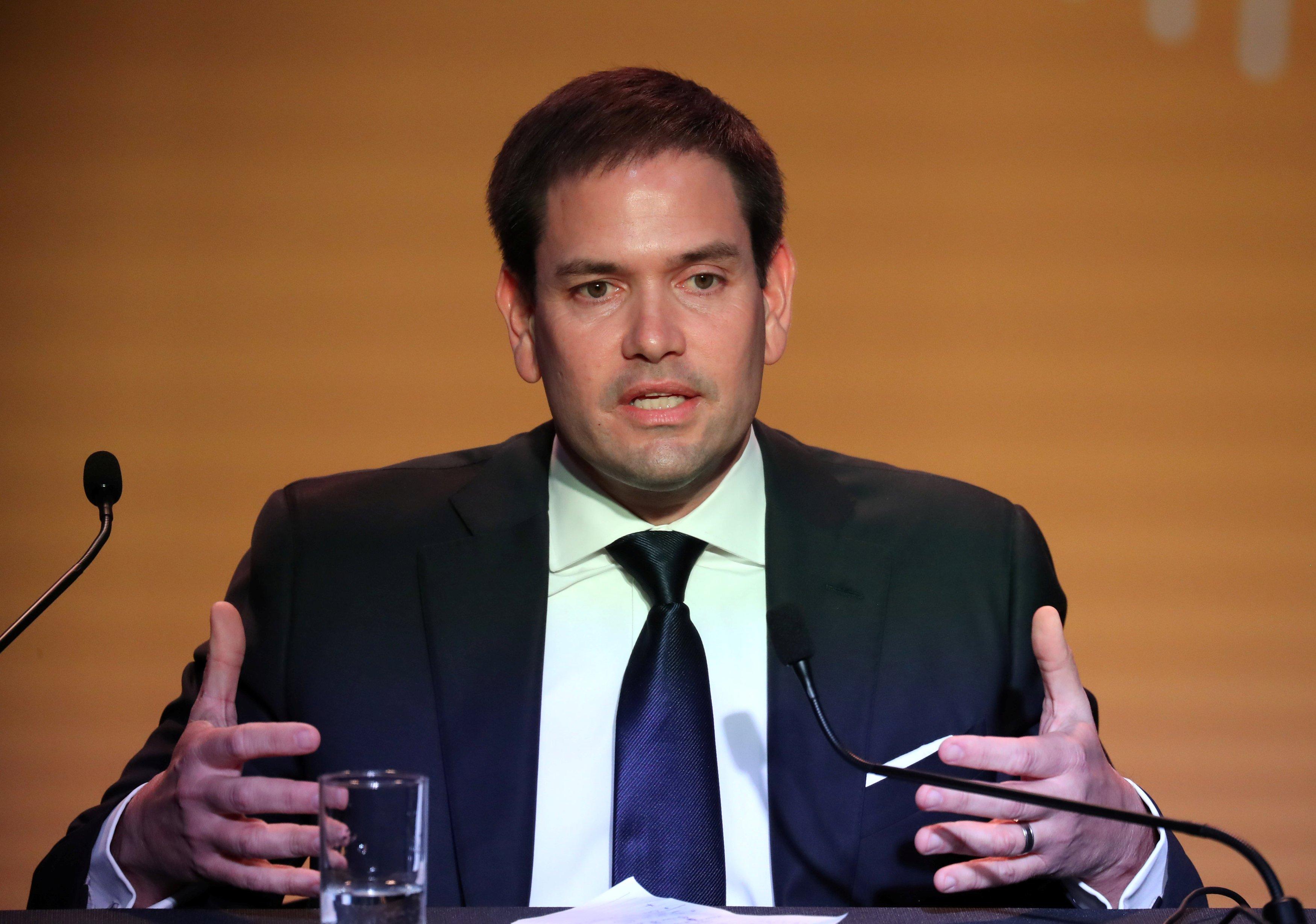 U.S. Senator Marco Rubio /REUTERS/Marcos Brindicci