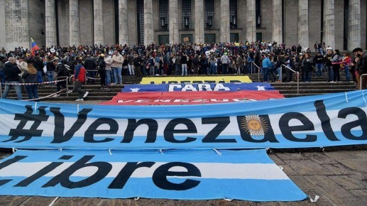 Una manifestación contra el proceso electoral en Argentina (Nicolás Stulberg)