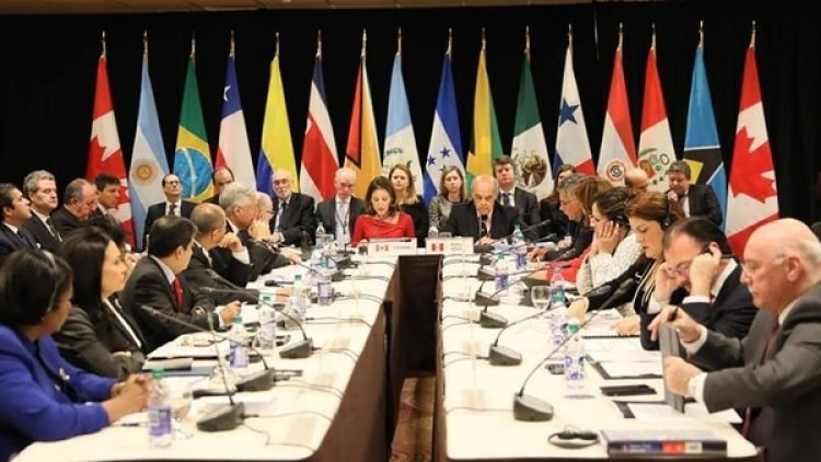 Representantes diplomáticos del Grupo de Lima (foto: @enpaiszeta)