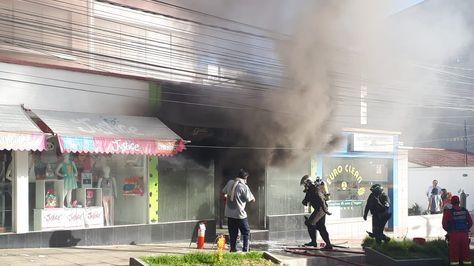 Incendio del restaurante Green Salad Garden.