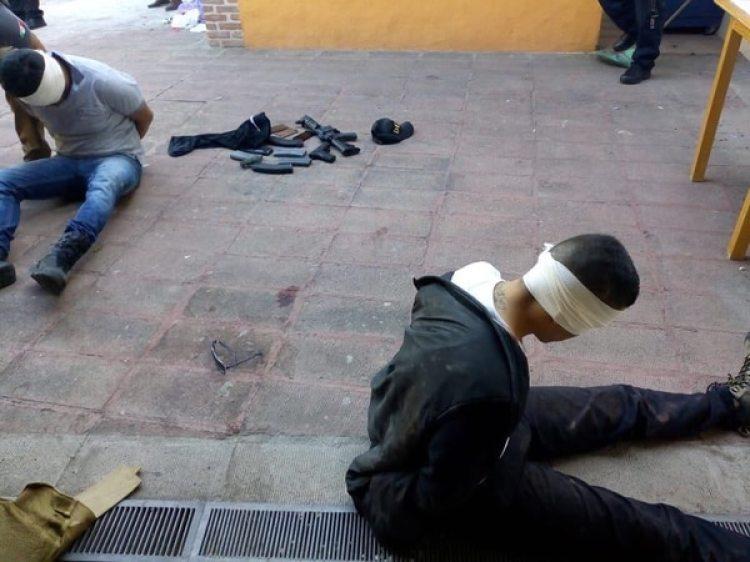 Los dos detenidos por las autoridades mexicanas
