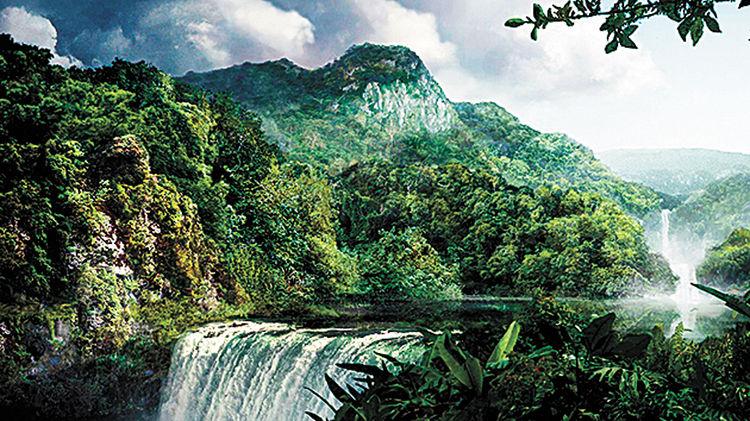Paraíso boliviano. Foto: lomasenlaweb.com