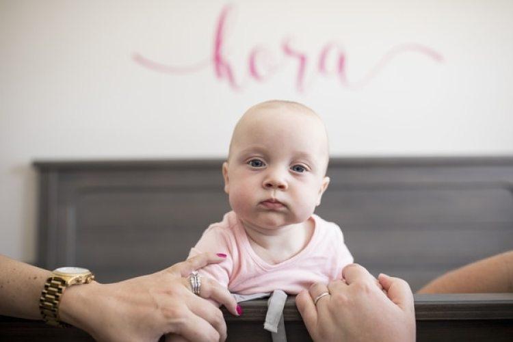 Kora Kellner necesitaba una cirugía antes de su nacimiento para quitar un tumor (The Washington Post / Jenn Ackerman)
