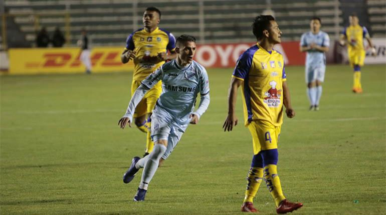 Callejón lleva a Bolívar a la Copa Sudamericana — Bolivia