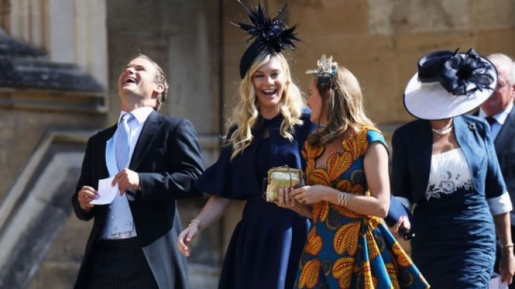 Chelsy Davy, la ex de Harry asistió a la ceremonia religiosa en la Capilla St. George