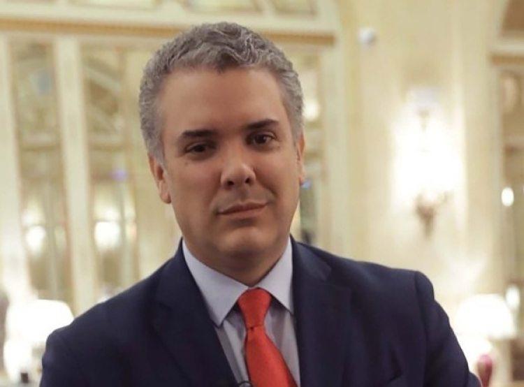 Iván Duque, candidato por el Centro Democrático.