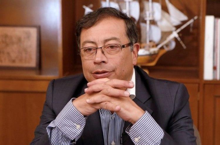 Gustavo Pero, candidato presidencial de izquierda. REUTERS/Jaime Saldarriaga