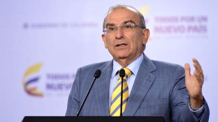 Humberto de la Calle,candidato por el partido Liberal.