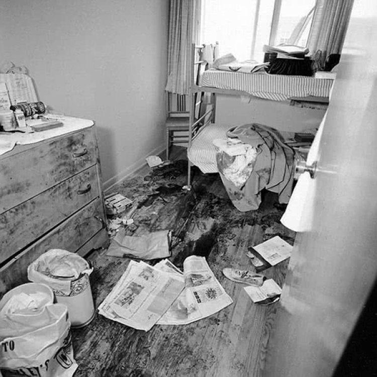 El apartamento en el que Speck violó y mató a las enfermeras