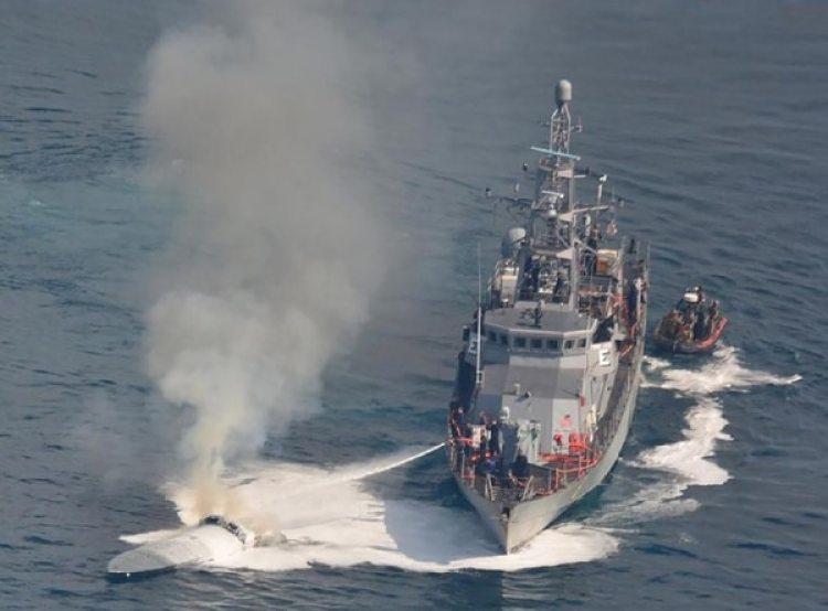 Las operaciones marítimas de Estados Unidos y México son cada vez más intensivas para detener el tráfico de drogas por mar. (Guardia Costera de EEUU)