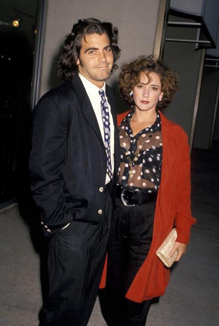 Clooney con su primera esposa Talia Balsam