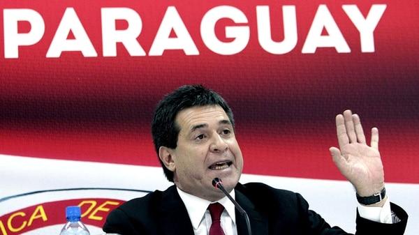 Dimite el presidente de Paraguay, Horacio Cartes