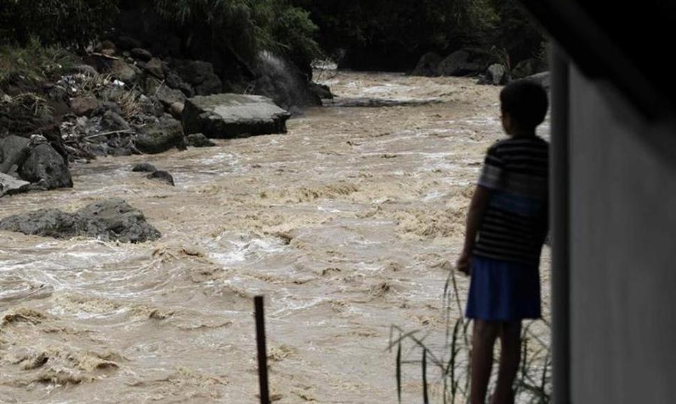 Inundaciones en Guatemala. Foto: Cortesía