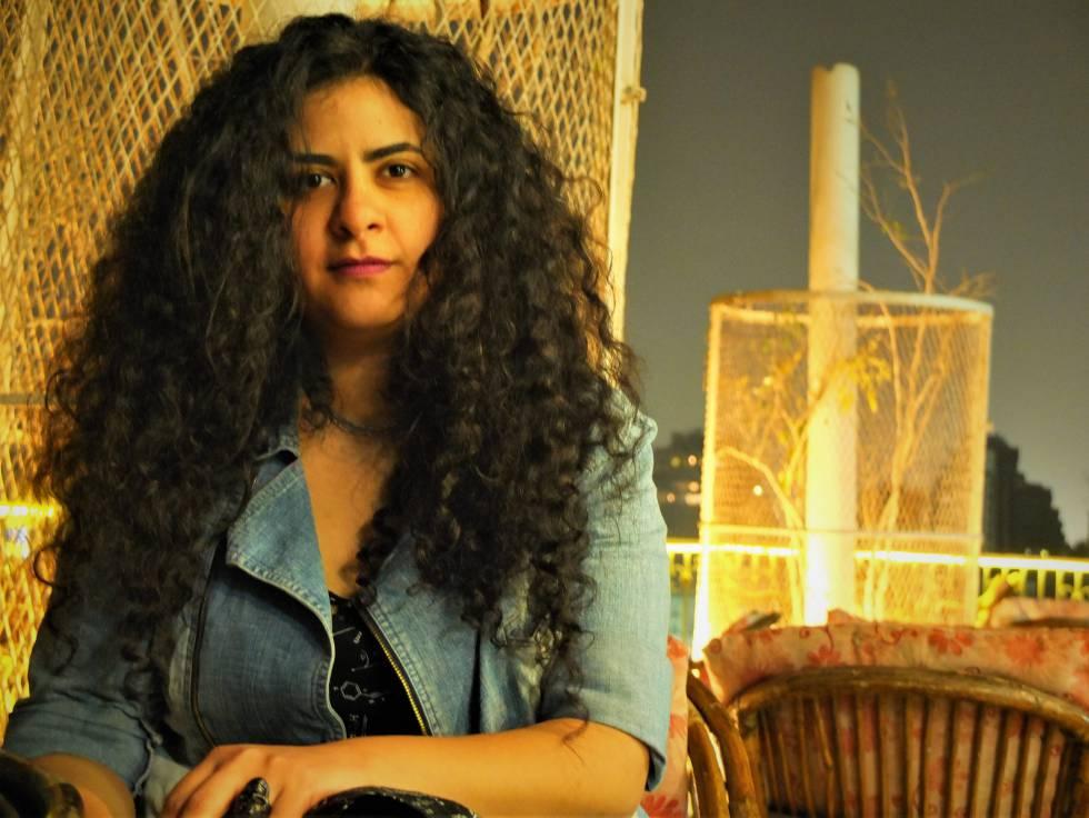 La música y activista egipcia Yasmine El-Baramawy.