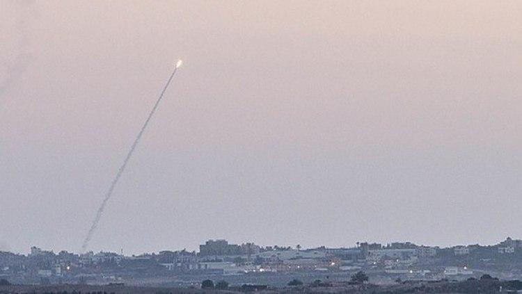 Cohetes disparado desde Gaza haciaIsrael (NurPhoto/Corbis via Getty Images/archivo)