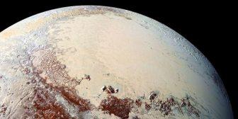 Plutón tiene dunas que estarían formadas de granos de metano helado